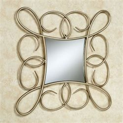 Micaela Wall Mirror Gold