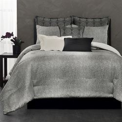 Avalon Comforter Set Black