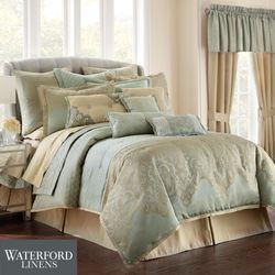 Aramis Comforter Set Aqua Mist