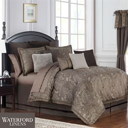 Glenmore Comforter Set Taupe