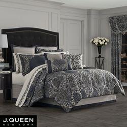 Raffaella Comforter Set Graphite