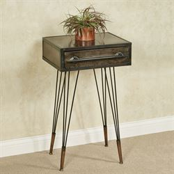 Brea Accent Table Taupe