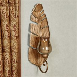 La Palma Wall Sconce Satin Gold