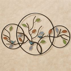 Bird Trio Wall Art Multi Earth
