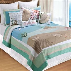 Whispering Sands Quilt Multi Cool