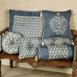 Sterling Tailored Sham Steel Blue