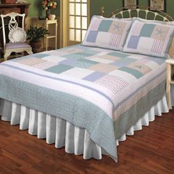 Nautical Breeze Quilt Sky Blue