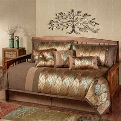 Urban Leaves Daybed Set Multi Warm Daybed