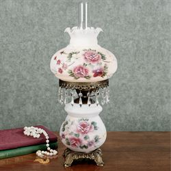 Beatrice Table Lamp with CFL Bulb Pink