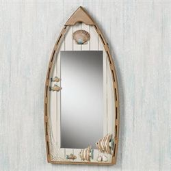 Playful Sea Wall Mirror Whitewash