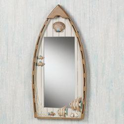 Playful Sea Wall Mirror Whitewash