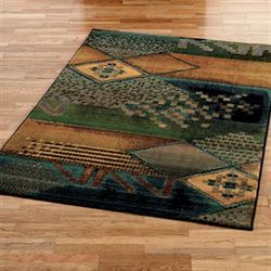 Kharma Midnight Rectangle Rug
