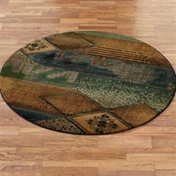 Kharma Midnight Round Rug