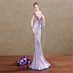 Belle of the Ball Figurine Purple