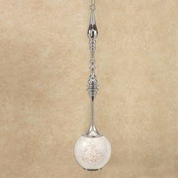 Adelise Capiz Shell Hanging Pendant Light Ivory Medium