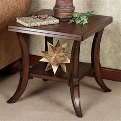 Hancock End Table Regal Walnut