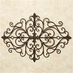 Ansovino Scrolling Wall Grille Antique Bronze