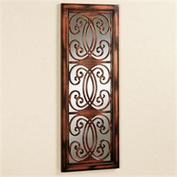 Asella Mirrored Wall Panel Brown