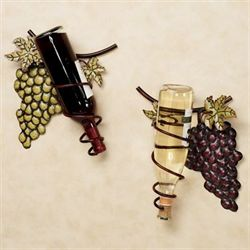 Wine Valley Wall Wine Rack Set Multi Jewel Set of Two