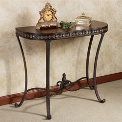 Lorient Console Table Regal Walnut