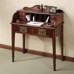 Sarantino Desk Natural Cherry