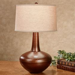 Etosha Table Lamp Antique Copper