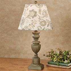 Pretty Paisley Table Lamp Olive