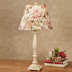 Floral Fever Table Lamp Cream