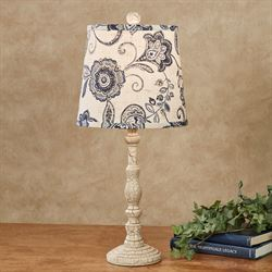 Passionate Print Table Lamp Antique Ivory