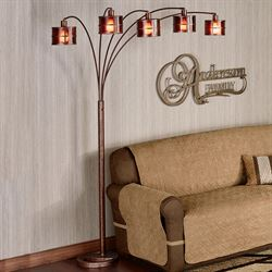 Dequan Arc Floor Lamp Bronze