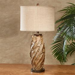 Palm Bay Table Lamp Mocha