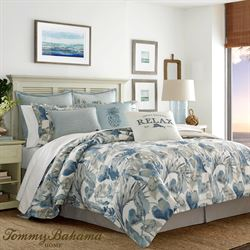 Raw Coast Comforter Set Blue