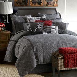 Hamilton Comforter Set Black
