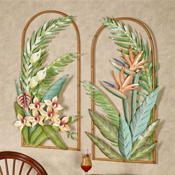 Orchids Arch Wall Art Multi Bright