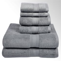 Aertex Bath Towel Set Six Piece Set