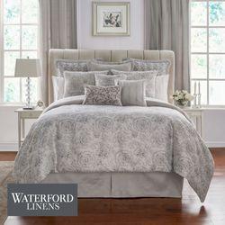 Sophia Floral Comforter Set Platinum