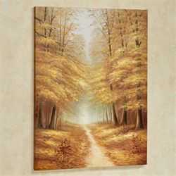 End of Fall Canvas Wall Art Multi Earth