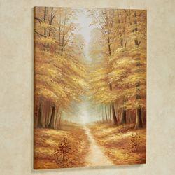 End of Fall Canvas Wall Art Multi Earth