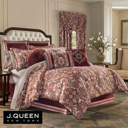 Rosewood Comforter Set Burgundy