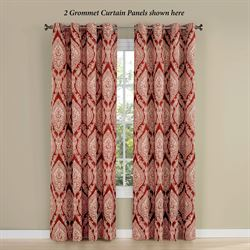 Wilder Grommet Curtain Panel Ember Glow 56 x 84
