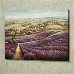 Lavender Sunrise Canvas Art