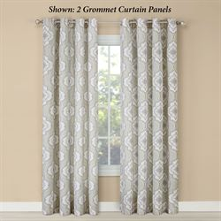 Natashya Grommet Curtain Panel Linen 52 x 84