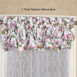 Caswell Tuck Valance Pink 70 x 16