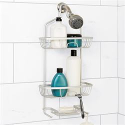 NeverRust Shower Caddy Satin Chrome