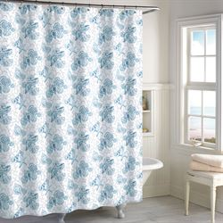 Key Largo Shower Curtain Blue 72 x 72