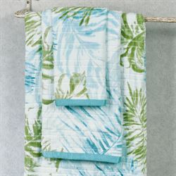 Tulum Bath Towel Set White Bath Hand Fingertip