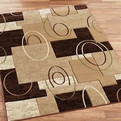 Cha Cha Rectangle Rug Beige