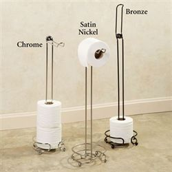 Flipper Toilet Paper Holder Stand