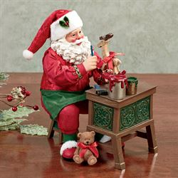 Craftsman Corner Clothtique Santa Red