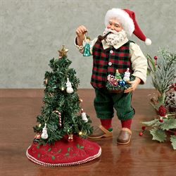 Remember Clothtique Santa Red Set of Two